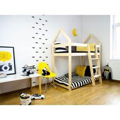 Łóżko drewniane Scandi MP - Skandynawski Sklep