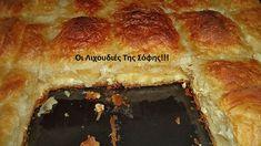 Τυρόπιτα με πανεύκολο χειροποίητο φύλλο σφολιάτας και γέμιση από σιμιγδαλόκρεμα με τυρί!!! ΥΛΙΚΑ ΓΙΑ ΤΟ ΦΥΛΛΟ 1 κιλό αλεύρι γ.ο.χ 500 ml νερό 1 κ.γ αλάτι 2 κ.σ ξύδι 4 κ.σ ελαιόλαδο ΥΛΙΚΑ ΓΙΑ ΤΗ ΓΕΜΙΣΗ 500-700 γρ.τυρί φέτα χοντροτριμμενη 1 λίτρο γάλα 1 φλ.τσαγιού (150 γρ.)σιμιγδάλι ψιλό 150 γρ.μαργαρίνη η φυτίνη πιπέρι 1 αυγό …