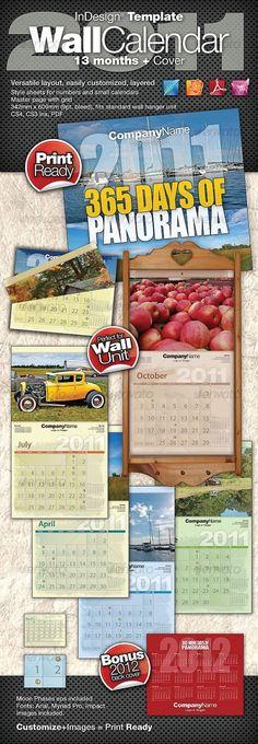 Wall Calendar 2018 Calendar 2018, Template and Walls