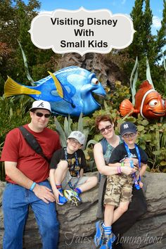 Why visiting Disney with young kids is great! @tlsofmommyhood