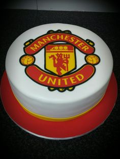 Man U Birthday Cake Tesco