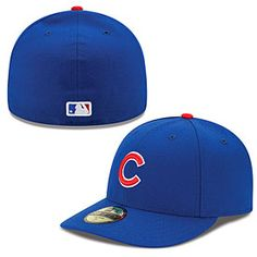 Get this Chicago Cubs Authentic Collection Low Crown On-Field 59FIFTY Game Cap at ChicagoTeamStore.com