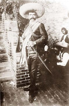 Emiliano Zapata was one of the leading figures in the Mexican Revolution of 1910, which was directed against the dictatorship of Porfirio Diaz. Zapata. He created and commanded the revolutionary force known as the Liberation Army of the South.