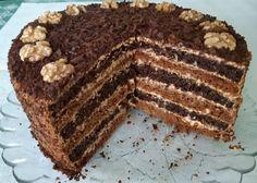 Medová torta so smotanovo-karamelovým krémom (bez vaľkania) (fotorecept) Tiramisu, Snacks, Cakes, Ethnic Recipes, Food, Basket, Appetizers, Mudpie, Cake