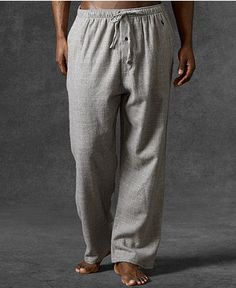 Polo Ralph Lauren Sleepwear, Flannel PJ Pant - Mens Pajamas & Loungewear - Macy's I like these pants