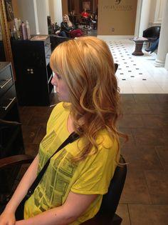 Strawberry blonde  Ashley @ Dean Sadler Hair Studio