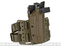 Blade-Tech WRS Level II Duty Holster w/ Thigh Rig - 1911 5