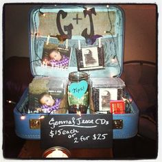 New and improved G&J merch suitcase. THANK YOU Dory Lerew for being a genius!!!