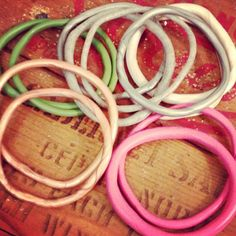 Polymer clay bangles!!!