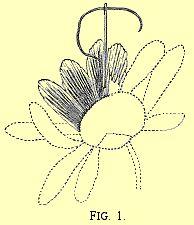 Daisy Embroidery How to Fig 1 Long and Short Stitch.  Victorian Embroidery and Crafts is dedicated to old fashioned arts.  The link has tips on embroidering daises, in particular.