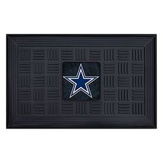 FANMATS NFL Dallas Cowboys Vinyl Door Mat -- Want to know more, click on the image.