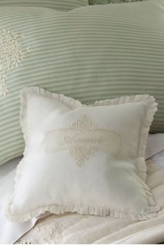 Amour Pillow Cover - A sweetly adorned accent pillow cover | Soft Surroundings