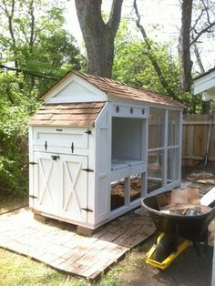Chicken Coop Design Ideas, Pictures, Remodel, and Decor - page 5