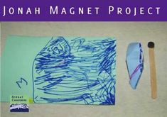 All about the Jonah magnet project for Yom Kippur made by children aged three through nine. Craft Projects For Adults, Crafts For Kids, Yom Kippur Crafts, Jewish High Holidays, Simchat Torah, Jewish Crafts, Educational Crafts, Rosh Hashanah, 9 Year Olds
