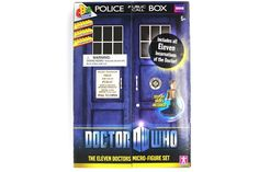 Doctor Who Micro-figure Set (all 11 of em people) #NeatoPinToWin