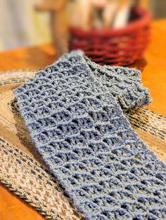 CrochetKim Free Crochet Pattern | Wandering Arches Scarf @crochetkim