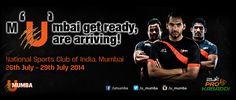 Speed, Stamina, Strength!  Book your tickets now! #Kabaddi #IndianSports #Mumbai