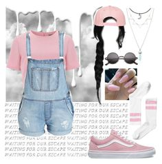 """""""Just relax man~ Madison """" by brookemcc ❤ liked on Polyvore featuring Nivea, Vans, Alice & You, Bardot and Monki"""