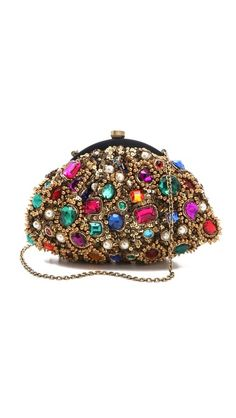 Santi Jewel Encrusted Clutch, because guys want your bag to be covered in gems.