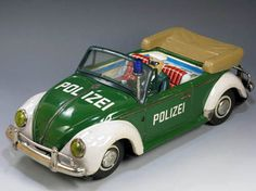 Nomura Polizei VW Beetle - Released in the 1960s, this very rare japanese model is difficult to obtain because it was released in Germany.