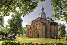 The Church of St Paraskeva Piatnitsa (1207 CE) Novgorod