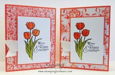 Stamping to Share: Blessed Easter Watercolor Card with How To Video-6:28 mins I hope you will enjoy the video and create your own version of a spring card today.