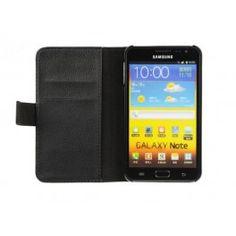 Mobil plånboksfodral Samsung Galaxy Note 1, 2 kortplatser samt ett sedelfack mycket fin kvalitè  #mobiltillbehör #mobil #tillbehör #plånbok #fodral #plånboksfodral