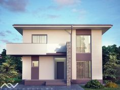 Beautiful House Plans, Beautiful Homes, Design Case, Exterior, House Design, How To Plan, Mansions, House Styles, Joker