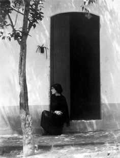 Edward Weston - Tina, Mexico, 1923.
