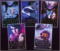 Wicked Lovely - Melissa Marr  OMG yes!!! This series will send you spiralling through a world of faery and fantasy, characters that will stay with me forever.