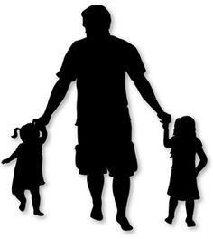 Silhouette Design Store - View Design #27279: daddy daughters silhouette
