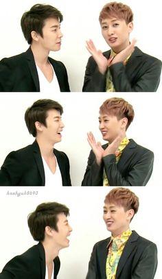 Donghae and Eunhuyk