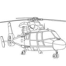Military Helicopter Coloring Page Color Online This Military