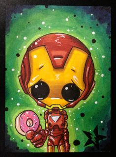 Hey, I found this really awesome Etsy listing at https://www.etsy.com/listing/156274036/sugar-fueled-iron-man-marvel-avengers