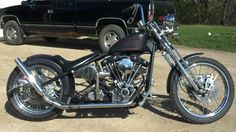 custom built harley bobber
