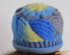 Propletená čepice