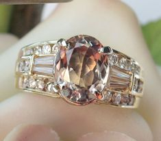 """CWS! 20% off the price shown for this 14K ALEXANDRITE Diamond Ring- Hallmarked """"HB"""""""