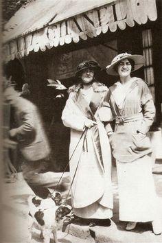 Coco & Adrienne Chanel