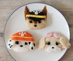 Paw Patrol sushi by Kidfirst Bento (@kidfirstbento)