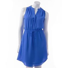 lc-lauren-conrad-chiffon-shirtdress-set