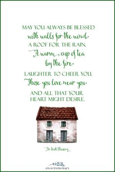 May you always be blessed | Irish Blessing Free Printables for St. Patrick's Day: 3 Designs! A set of digital downloads featuring 3 Irish blessings. Use for DIY wall art, cards, banners & more!