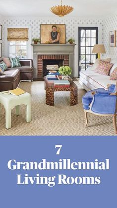 Living Room Sectional, Home Living Room, Living Room Furniture, Living Room Decor, Living Spaces, Southern Living Rooms, Hall Design, Living Room Inspiration, Inspired Homes