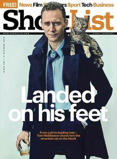 Tom Hiddleston by Charlie Gray for Shortlist magazine