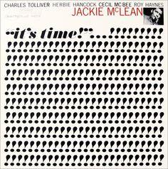 """Jackie McLean: It´s Time Label: Blue Note 4179 12"""" LP 1964 Design: Reid Miles Photo: Francis Wolff"""