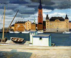 Ewald Dahlskog (1894-1950) - Stockholm, 1929