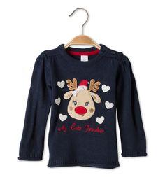 Jersey bebé en azul oscuro - My Cute reindeer 13€ 133897.1 c&A