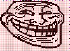 Trollface chart by Sugarcoatidli3z