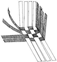 Paper-woven Basket Tutorial