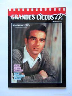 Revista Grandes Ciclos TV nº1 MONTGOMERY CLIFT, el homosexual rebelde - Foto 1