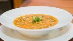 Mais uma receita de sopa para ajudar a perder os últimos kilinhos!